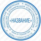 Макет печати для юридического лица - Стандарт 13-К