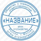 Макет печати для юридического лица - Стандарт 21-К